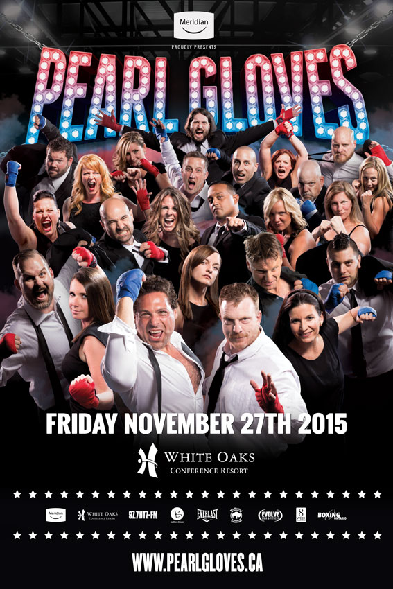 2015 Pearl Gloves Fight Poster