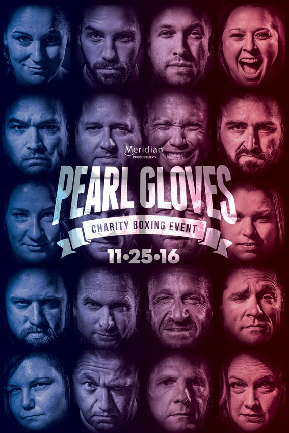2016 Pearl Gloves Fight Poster