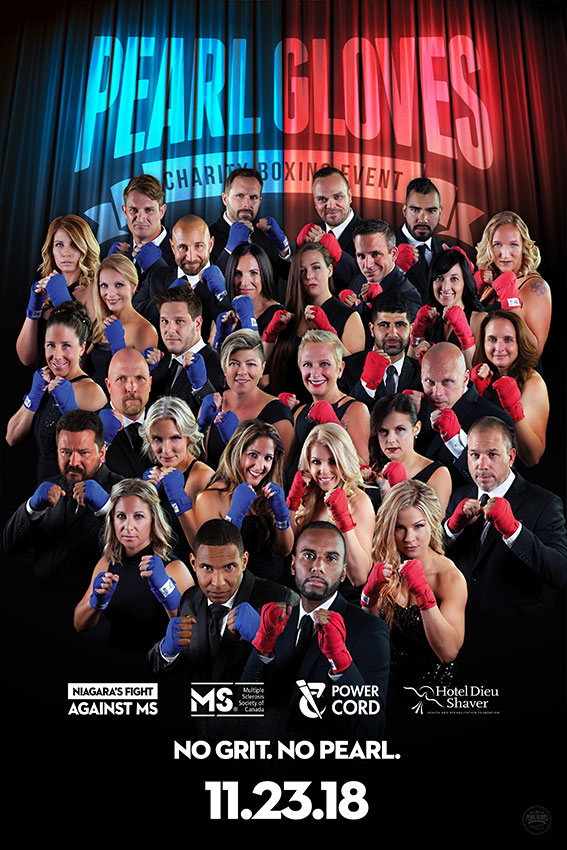 2018 Pearl Gloves Fight Poster